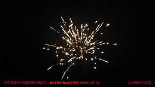 Brothers Pyrotechnics Astro Blaster Firework (Rocket 5 Pack)