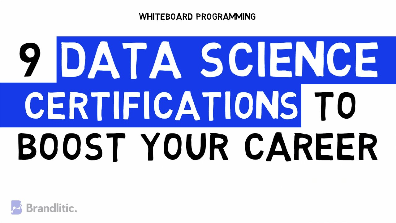Top 9 Data Science Certifications to Boost Your Career