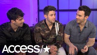 Nick Jonas & Joe Jonas Have Interesting Reactions When Asked About Having Kids (EXCLUSIVE) | Access