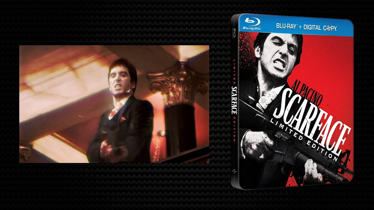 Download Scarface. 1983 - Blu-ray Menu, Intro, Trailer. Extended