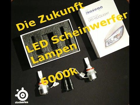Unboxing Safego Led Scheinwerfer Lampen 6000K