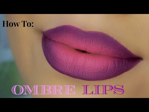 FUN & EASY : OMBRE LIP TUTORIAL