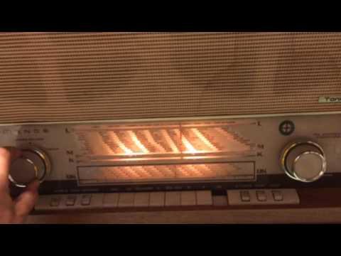 Nordmende Tannhäuser FM stereo tube radio