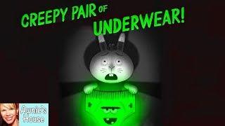 Kids Book Read Aloud: CREEPY PAIR OF UNDERWEAR by Aaron Reynolds and Peter Brown