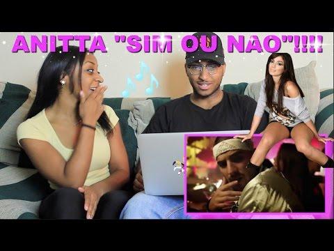 """Couple Reacts : """"Sim Ou Não"""" By Anitta Feat Maluma Reaction!!!"""