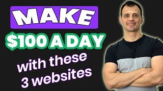 How To Make 100 Dollars a Day Online From Home (2019)