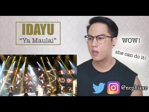 Idayu Afmegastar - Ya Maulai | REACTION