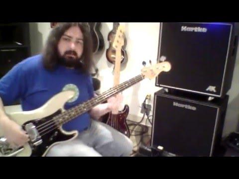 Fender P-Bass Shoot Out