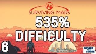 Surviving Mars - SELF SUFFICIENT SOON. #6 - (535%) DIFFICULTY Playthrough [4k]