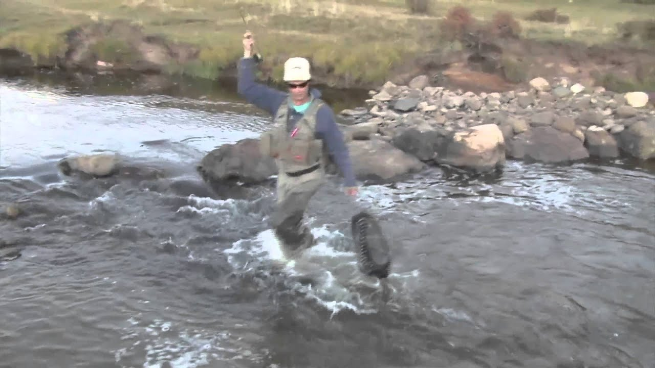 Fly fishing in new mexico mouse pattern youtube for Fishing new mexico