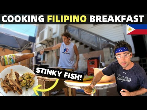COOKING FILIPINO BREAKFAST AT HOME (Dried Fish, Egg… No Rice?!)