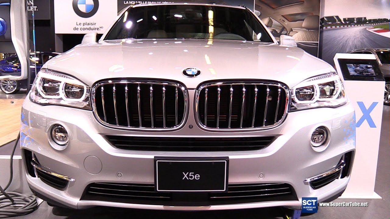 2016 Bmw X5e Xdrive 40e Exterior And Interior Walkaround