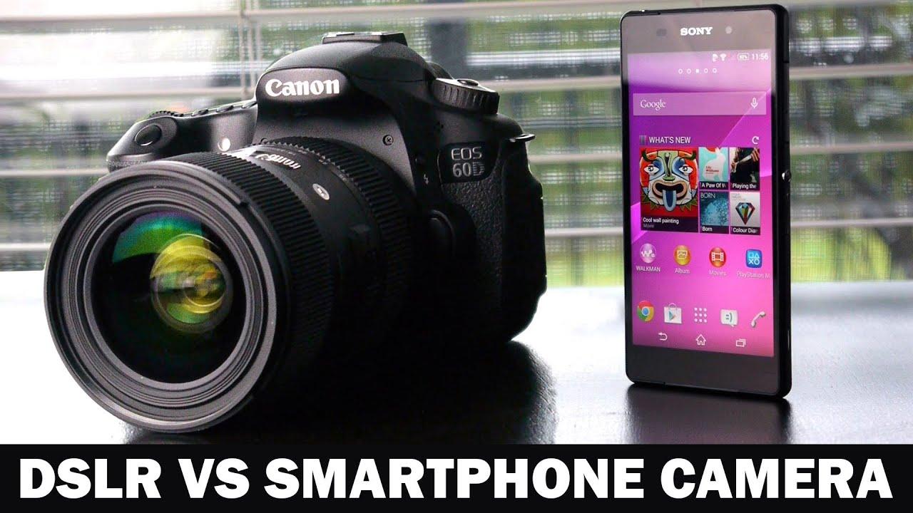 4K Sony Xperia Z2 VS 1080P Canon 60D DSLR Camera Comparison - YouTube