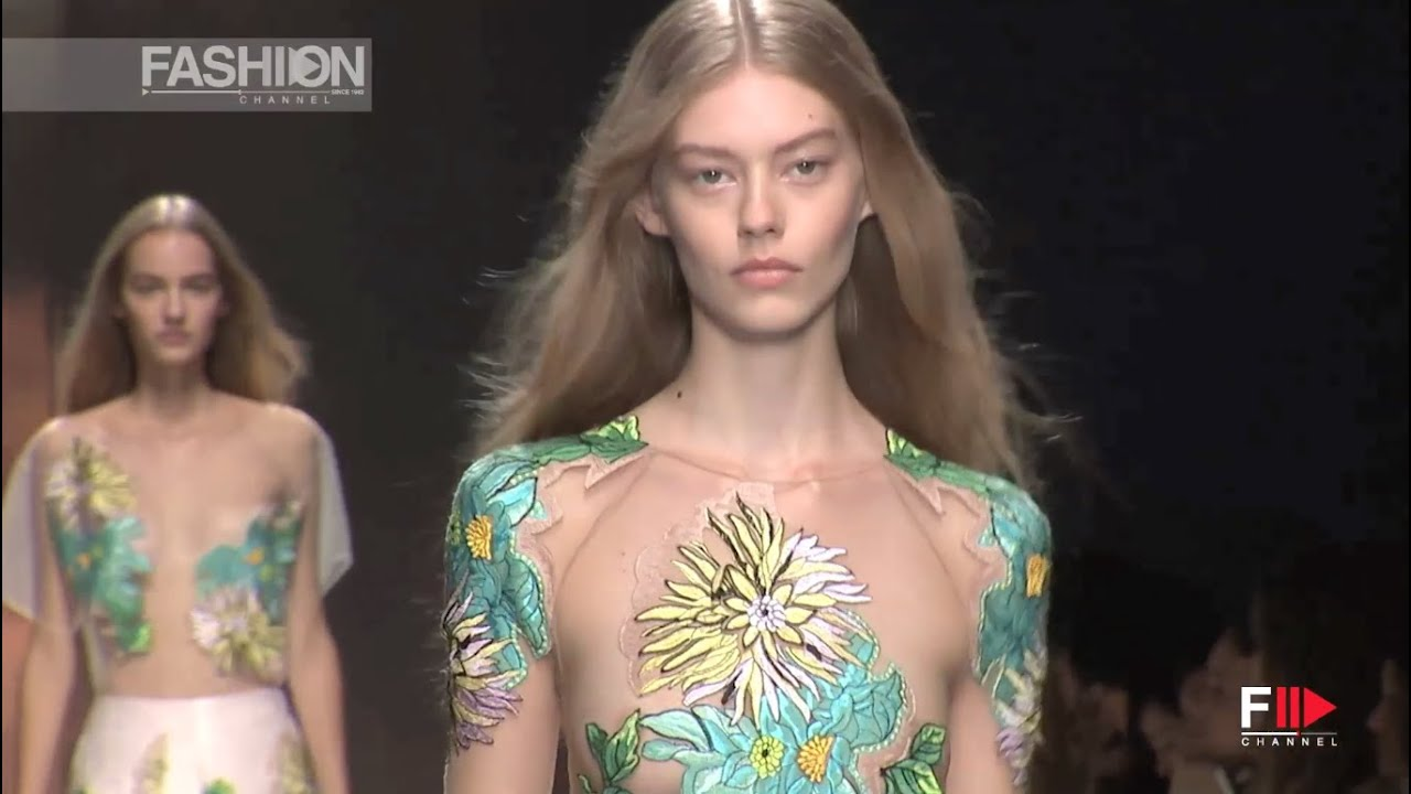 Blumarine Full Show Spring Summer 2015 Milan By Fashion Channel Youtube