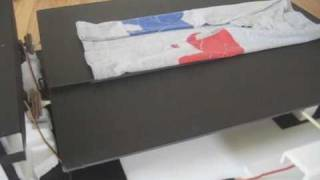 Automatic T-Shirt Folder Robot - 'Portable Version'