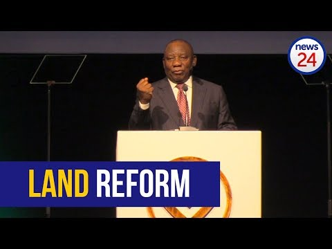 Cyril Ramaphosa says he wants to reconcile the hunger for land with the fears of those who have land