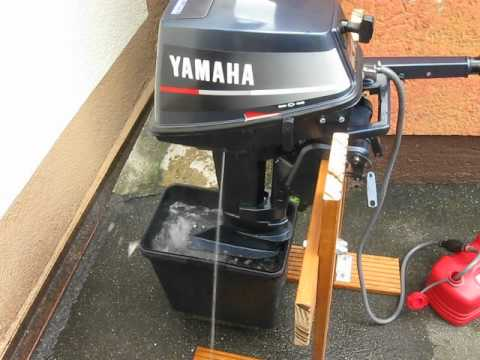yamaha 8ps 2 takt au enborder kurzschaft youtube. Black Bedroom Furniture Sets. Home Design Ideas