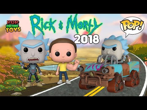 RICK AND MORTY 2018  FUNKO POP