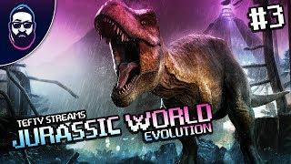 Tefty Streams Jurassic World Evolution on PC - Episode 3