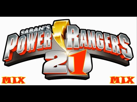 POWER RANGERS ALL THEME SONGS LIRYCS - ALL OPENING THEMES (Mighty Morphin To Dino Charge) (Karaoke)