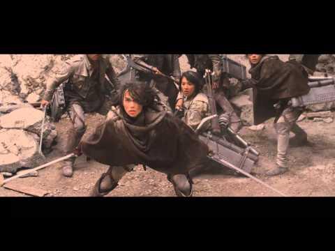 Атака Титанов / Shingeki No Kyojin PV2 (Live-Action) - Трейлер в русской озвучке