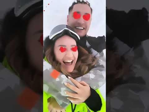 Ольга Бузова и Давид Манукян в сторис 30.12.2019.