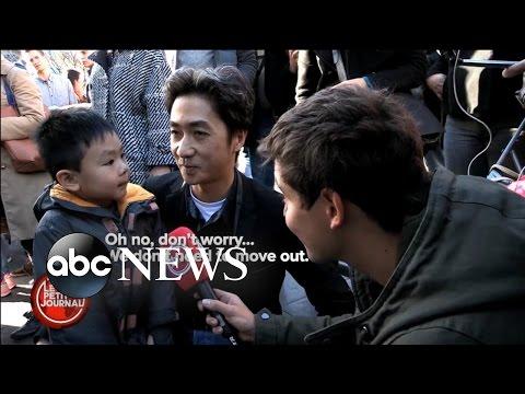 Inspiring Father Explains Paris Tragedy to Child