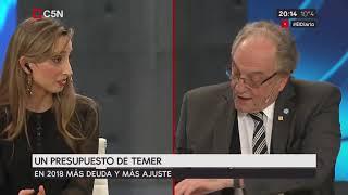 21-09-2017- Carlos Heller en C5N - El Diario, con Víctor Hugo Morales