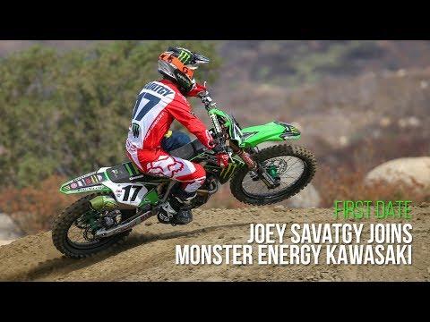 First Date: Joey Savatgy Joins Monster Energy Kawasaki