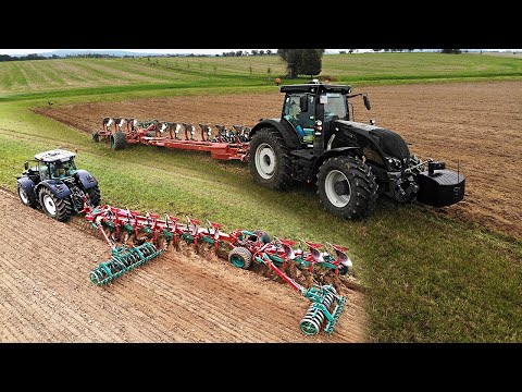 PFLÜGEN | VALTRA-POWER | KVERNELAND ▶ Agriculture Germanyy