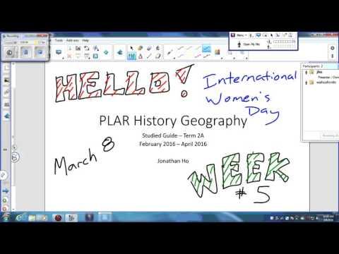 PLAR HisGeo March08Week5.1