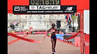 BREAKING: Brigid Kosgei breaks Women World Marathon Record