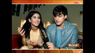 Mohsin Khan and Shivangi Joshi celebrate Diwali with SBAS