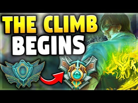 THE CLIMB BEGINS | SEASON 8 GRIND #1 (Placement Matches) - League of Legends