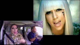 Lady Gaga Carpool Karaoke  poker face mixed