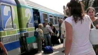 マルセイユ・サン・シャルル駅の改札へ向かう20060616 Gare de Saint-Charles