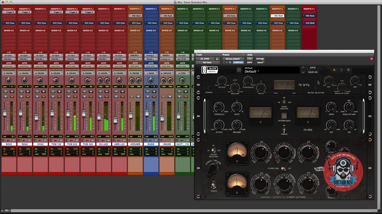 Mixing with Slate Digital plugins (VBC, VCC, Trigger 2 ...