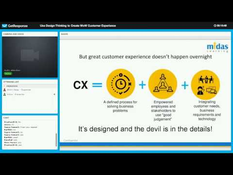 Expert Talk: Use Design Thinking to create WOW Customer Experiences