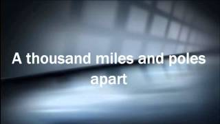 Adele Skyfall Lyrics Video With Male Vocal
