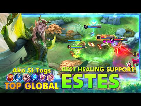 Estes Best Healing Support! Top Global Estes by Ako Si Togs ~ MLBB