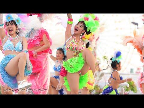 みんな楽しそう(^ ^)  2019神戸サンバチーム 神戸まつり  SAMBA CARNIVAL (サンバカーニバル)