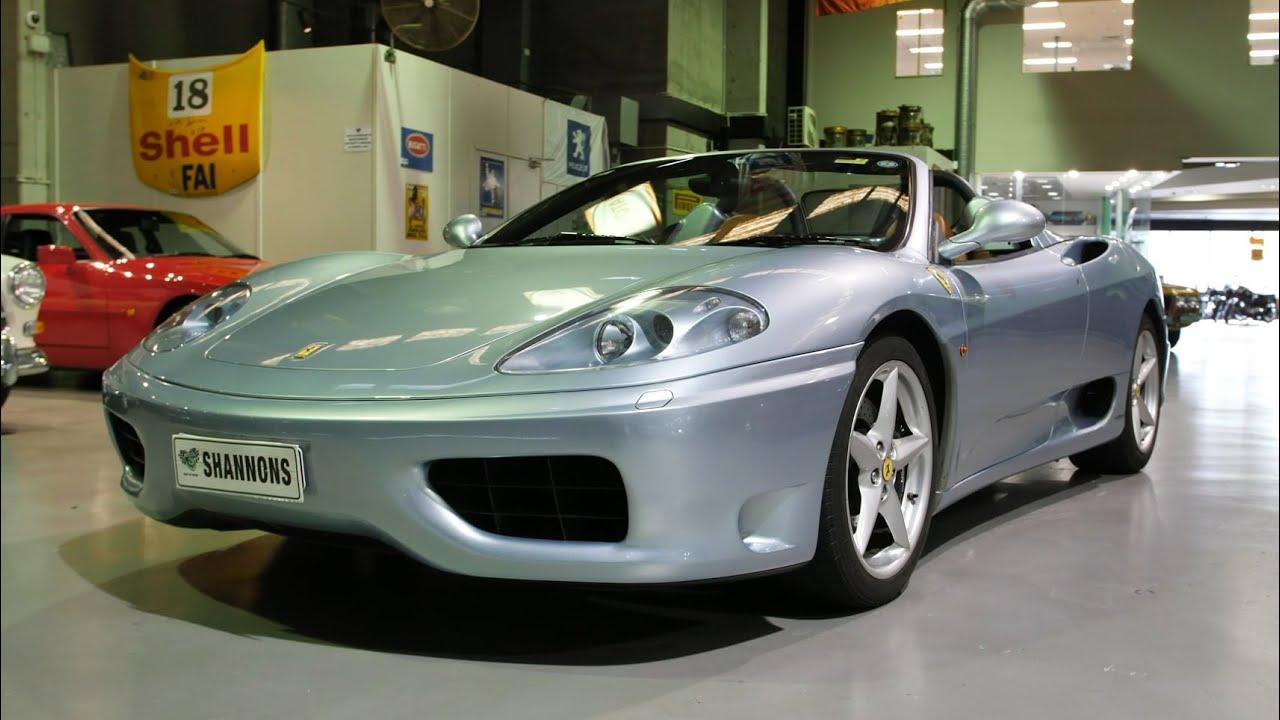 2004 Ferrari 360 'Manual' Spider - 2020 Shannons Winter Timed Online Auction