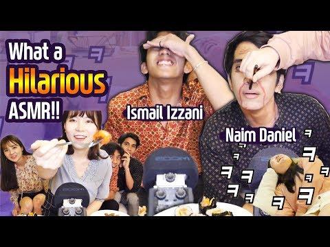Funny Desibel Game With Ismail Izzani X Naim Daniel |Blimey
