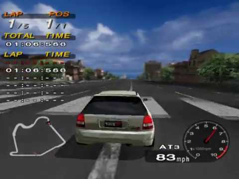 Driving Emotion Type-S (PS2 Gameplay)