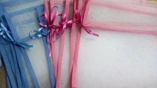 Como fazer saquinho maternidade