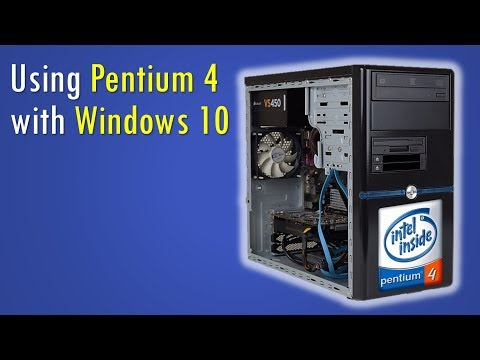 Can we use a Pentium 4 with Windows 10 as our daily driver?