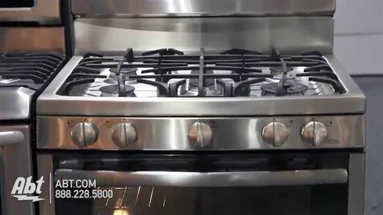 GE Profile Inch Double Gas Oven Convection PGB Overview - Abt gas ranges