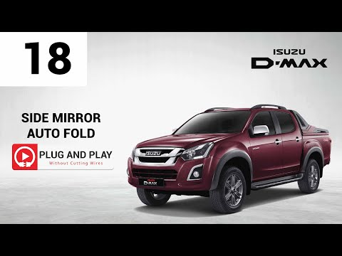 Isuzu D-Max_Side Mirror Auto Fold_Plug & Play + How To Install