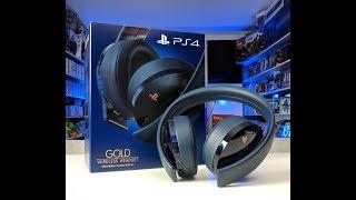 Обзор Sony Gold Wireless Headset для PS4 Limited Edition Реальное золото или обычное Го...но