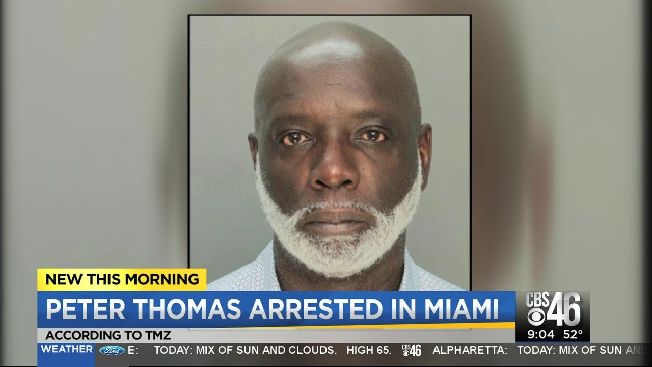 Peter Thomas of RHOA arrested